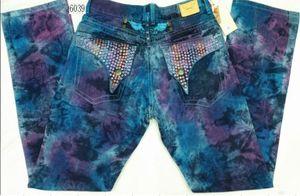 Haute qualité New Robin jeans des hommes de mode célèbre designer jeans biker marque robin sjeans pour jeans déchirés homme pour les hommes longueur des pantalons longs Jean