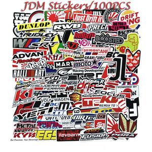 100PCS JDM RC-Auto-Aufkleber Graffiti Hotsale Helm Aufkleber für Laptop-Skateboard-Auflage-Fahrrad-Motorrad-PS4 Telefon Gepäck Aufkleber Gitarre Spielzeug