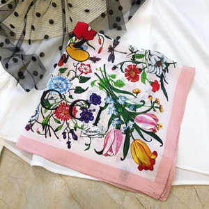The new brand silk scarves designed by the high-quality royal spring designers for women in 2020 are the fashionable hot style of women