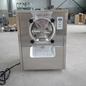 CE commercial desktop hard ice cream machine batch freezer gelato ice cream making machine Free shipping