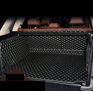 Leather Car Trunk Mat Cargo for X5 2009 2010 2011 2012 2013 2014 2015 2016 2017 2018 E70 F15 cover accessories