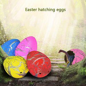 60pcs uova di dinosauro di cova magica gonfiabile aggiungere acqua che cresce uova di dinosauro bambino giocattolo educativo di capretto regalo interessante di pasqua dbc DH1303