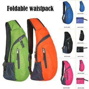 Sling Bag Crossbody Shoulder Chest Back Pack Antifurto Borse da viaggio Daypack