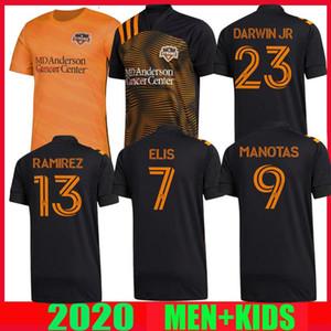 2020 mls Houston Dynamo soccer jersey 2021 away black 20 21 Ramirez Manotas Darwin jr Elis men kids football shirts thailand