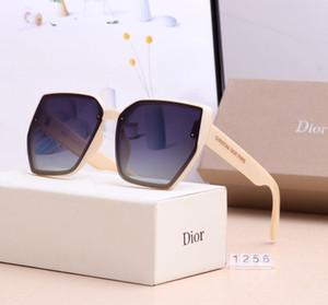 Luxury Designer Sunglasses uomini donne Big montatura oversize Occhiali da sole 2019 nuovo gradiente Shades Eyewear trasporto libero
