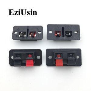Cheap Connettori 5Pcs / Lotto 2 posizioni Connettore terminale Spingere Jack Spring terminali di carico Audio Speaker 2P