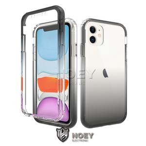 Для iPhone 11 XS MAX XR Huawei P40 PRO P30 Lite Nova 6SE Прозрачный телефон Дело Антидетонационные ТПУ Защитный противоударный Shell Обложка noey