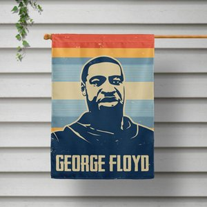 Non riesco a respirare bandiera nera Abita Matter 16 stili 40 * 60cm Wall Hanging volo poliestere Banner Bandiere OOA8052N
