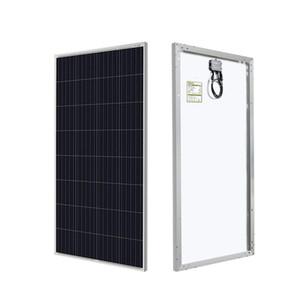 독립형 계통 연계 형 150 와트 12 볼트 태양 전지 패널 대형 태양 광 시스템, 주거, 상업 하우스 캐빈 배터리가 보아 충전, 옥상 나고