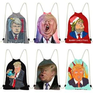 Ttou Mode Lächeln Patent Leder Schultertasche Drucke Gelegenheitseinkauf Rucksack Trump-Beutel für Mädchen-nette Tote-Handtasche # 994