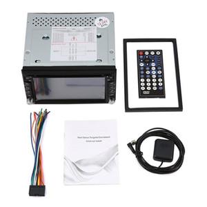 Universal Car Radio Duplo 2 Din Car DVD Player GPS de Navegação no traço PC Stereo Chefe Unidade de Vídeo + Grátis Mapa + Free Cam