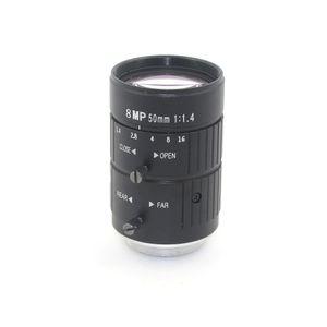 50mm 8MP HD-Objektiv F1,4 C-Mount manuelle Blenden Fixfokus IBV-HD Überwachung CCTV-Kamera-Objektiv