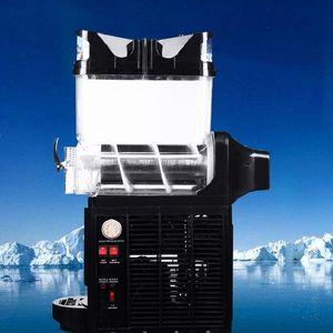 Envío gratuito 110 / 220V Comercial solo cilindro fusión de la nieve jugo de la máquina Batido de leche Tea Shop esencial