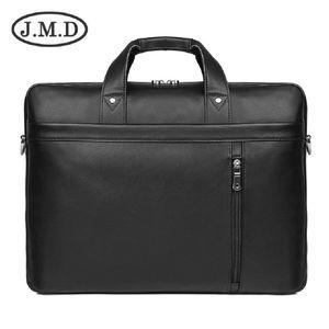 J.M.D Новый 17-дюймовый компьютер сумка Простой свет Real коровьей сумки Бизнес Wild портфель 7386