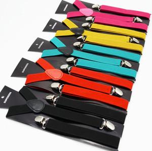 Askı Ayarlanabilir Pantolon üzerine Unisex Clip 40styles Y-geri Suspenders Brace Elastik Klipsli Elbise Jeans Pantolon kemerleri GGA2808