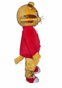 Продаем нарасхват Daniel Тигр костюм талисмана Daniel Tiger Мех костюмы талисмана