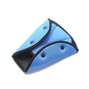 New Car Seat Belt Triangle Safety Clip Buckle Universal Car Safety Belt Holder Child Kids Car Seat Cover Protect Baby Adjuster