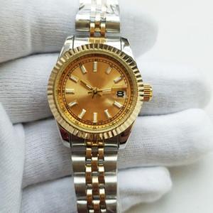 28 millimetri di lusso bracciale orologio da polso in oro designer donne orologi nuovo marchio semplice Tag moda orologio da donna orologio automatico giorno data orologio al quarzo