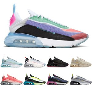 be true nike air max airmax 2090 tênis para mulheres dos homens formadores Antracite Pure Platinum Pink Foam Lava Glow Volt Blue men runners sports sneakers