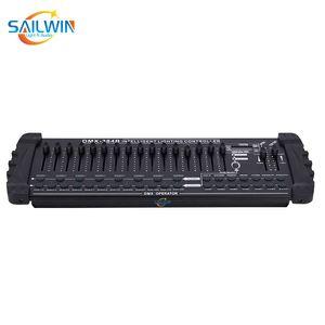 DJ 점화를위한 저렴한 중국 무대 조명 DMX384A 384B 컨트롤러 DMX 콘솔 머리 빛을 이동