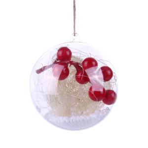 Ev PartyYear Aydınlatma Ağacı Süs İçin Süsleme Asma Temizle Noel ağacı Topu Ampul Lamba Dekorasyon