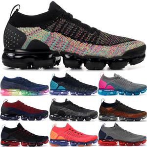 Siyah çok renkli CNY mavi yörünge erkek spor ayakkabılarını GUNSMOKE Orca gerçek koşu ayakkabıları Örgü erkekler kadınlar olmak 2.0 1.0 Fly