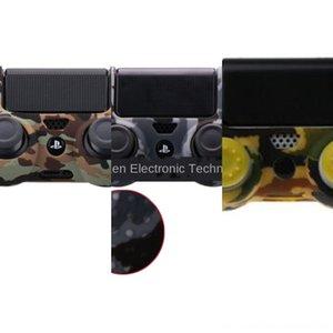 SMiLN Chrome Peinture peau de logement Shell Case 4 pour Sony PlayStation Cover PS4 Controller