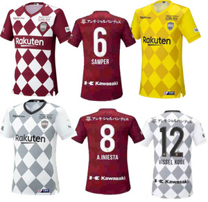 fast ship 2020 2021 Vissel Soccer Jerseys PODOLSKI DAVID VILLA A.INIESTA 20 21 home away 3rd football shirt