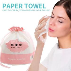 Descartável Limpe algodão macio da pele amigável Maquiagem Toalha comprimido portátil Magia Viagem cuidado face expansíveis descartáveis Toalhas