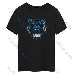 KENZO T-shirt Xshfbcl Art und Weise neues marque luxe Progettista T-Shirt für Männer Tigerkopf-T-Shirt für Männer atmungsaktive Kleidung Tigerkopf-T-Shirt