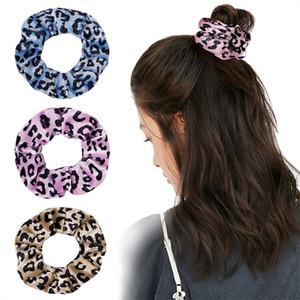 27Colors Korea Velvet Scrunchie Hair Bands Elastic Gradient Tie-dyed Hair Ring Circle Women Girl Scrunchies Ponytail Holder Hair Accessories