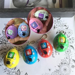 8 Keychains Scissors Rock Cloth Game Doll Face Keychain Round Egg Shape 8 Color Pendants