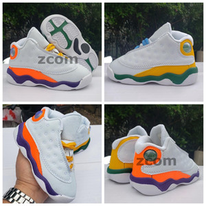2020 New 13 Playground 13s Kids Basketball Shoes Boys Girls Designer Sneakers Trainers Children Baskets Kid Sports Size 22-27
