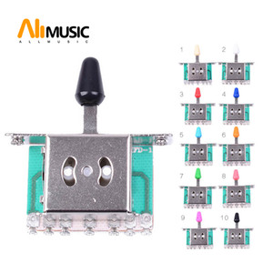10 pcs 5 Way Selector Electric Guitar Pickup Switches Guitar Toggle Lever Switches Guitar Parts Free shipping MU0218