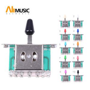 10 unids Selector de 5 Vías de Guitarra Eléctrica Interruptores de Guitarra Toggle Lever Switches Guitar Parts Envío gratis MU0218