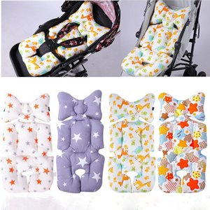 Cotton Baby Stroller Mattress Cushion Seat Cover Breathable Soft Car Pad Pushchair Urine Pram Liner Cartoon Star Mat Baby Cart
