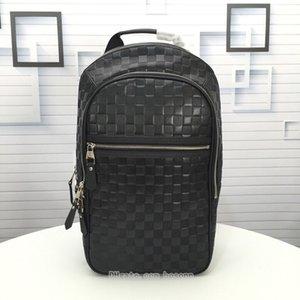 Mens Rucksack Brand Designer Carry On Rucksack Fashion Schultertasche Schwarz Luxusreisetasche Freies Verschiffen