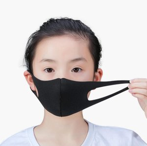 Child Face Mask Washable Breathable Dustproof Ice Silk Children Reusable Mask Earloop Washable Mask Party Masks OOA7703