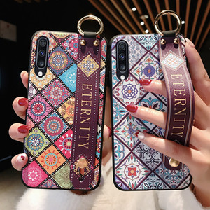 Pour Samsung Galaxy A50 A70 A30 A10 A20 S8 S9 S10 plus Note 8 9 10plus A40 A60 S10e Dragonne Phone Holder Case