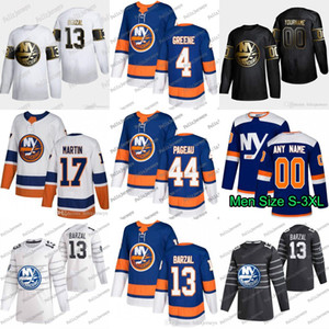 44 Jean-Gabriel Pageau New York Islanders 4 Andy Greene Mathew Barzal Brock Nelson Ross Johnston Anders Lee Matt Martin Pinock Jersey