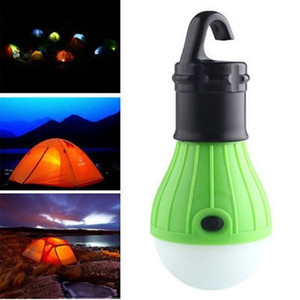 Outdoor Hanging 3LED Camping Tent Light Bulb Fishing Lantern Lamp New