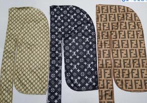 Designer Durag Headband pirata Hat Bandanas para homens e mulheres 81 Designs Marca Silky Durags Du-Rag Bandana headwraps Hip hop Caps Wraps Cabeça