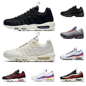 nike air max 95 Nuevos hombres zapatos para correr de alta calidad BRED Essential Ultramarine What The OG Grape PULL TAB retro mens zapatillas deportivas de moda