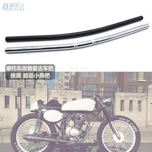 Moto Retro maniglia Modified tubo CG125 Modified rubinetto 22 Calibro Steel Pipe manubrio Modificato rubinetto