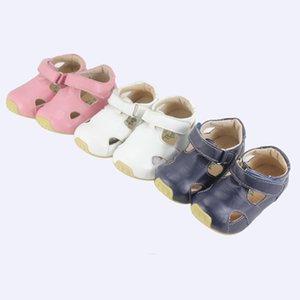 Tipsietoes Marque Qualité En Cuir Enfants Enfants Mocassins Sandales Chaussures Pour Garçons Et Filles Nouveau 2019 D'été 63102 Sapato Infantil Y190525