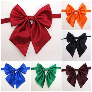 NEW Fashion Adult and children Pure color bowknot necktie accessories decoration Supplies Bow flower tie T10I0028