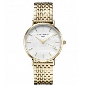 New Rose Gold Frau MV Uhren 2019 Marke Luxus Krankenschwester Damen Kleider weiblich Folding Buckle Armbanduhr Geschenke für Mädchen