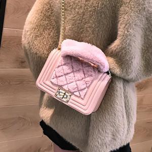 Tasarımcı-Yeni Ekose kadın çantaları omuz Lady Zinciri çantası omuz çantası Moda Crossbody çanta Messenger Çanta Shishang / 1