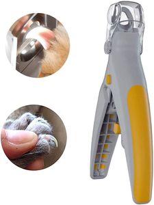 Pet Nail Dog Clipper Trimmer e Toenail Clippers Pet prego Scissor Great for Cats Dogs Características Luz LED