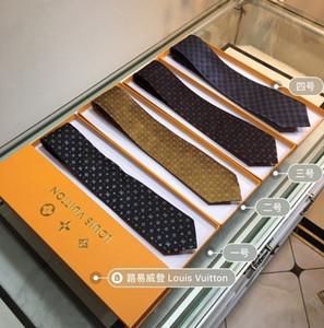 2019 verano nuevos hombres corbata moda elegante corbata lujosa tela de seda estilo elegante corbata